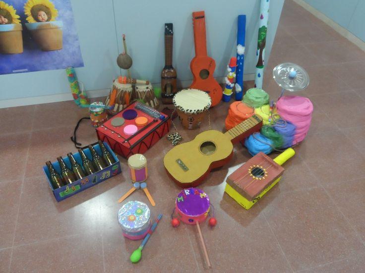 muziekinstrumenten maken met kleuters