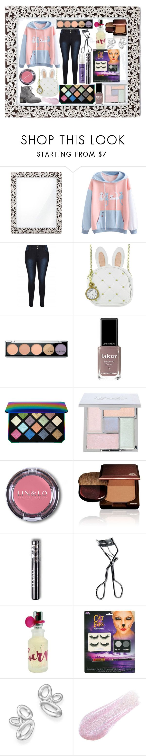 """Untitled #1045"" by yasm-ina ❤ liked on Polyvore featuring L'Objet, Loungefly, MAKE UP FOR EVER, Londontown, Puma, Shiseido, MAC Cosmetics, Liz Claiborne, Ippolita and Lipstick Queen"