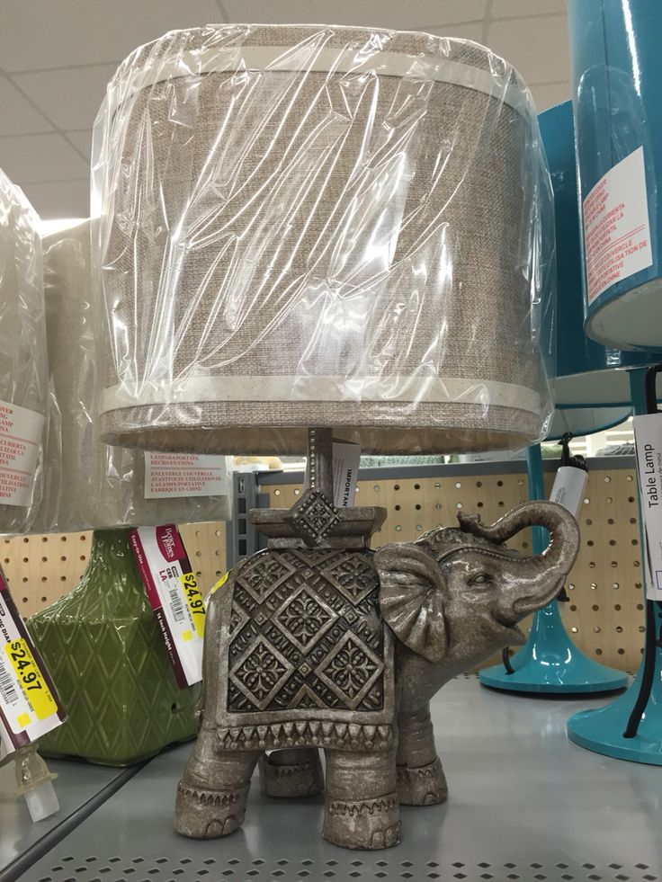 Walmart Elephant Lamp