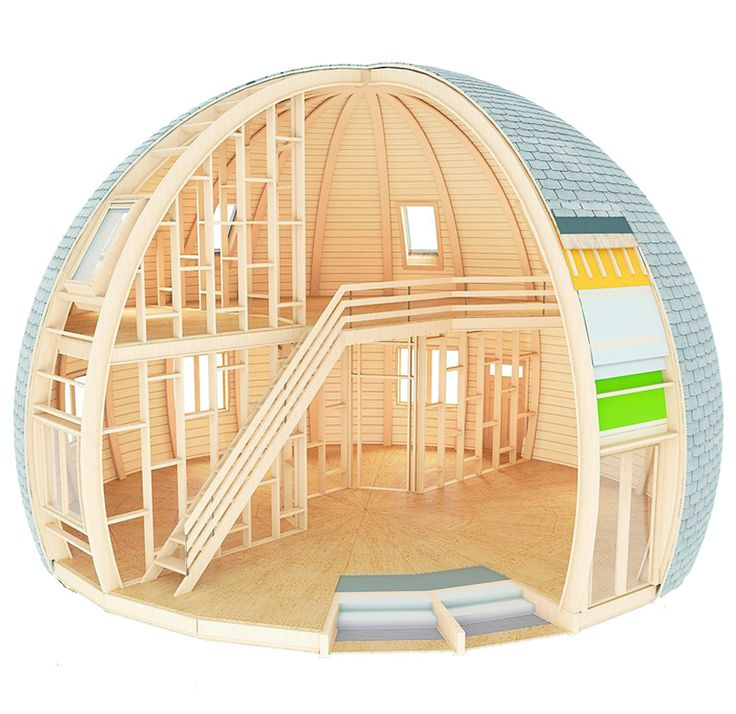 42 besten dome bilder auf pinterest kleine h user for Smart haus container
