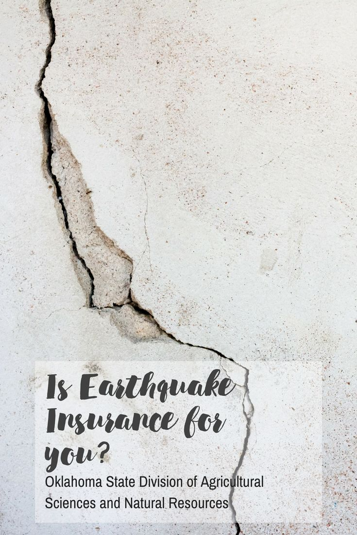 Who would have thought if you lived in Oklahoma, AKA Sooner State, homeowners would have to consider earthquake insurance. It's a serious deal around in this part of the country.  To ensure you are getting the coverage you need at an effective cost, we recommend shopping around first before going to the first insurance agent you see.  #okstate #earthquake #earthquakes #EarthquakeInsurance