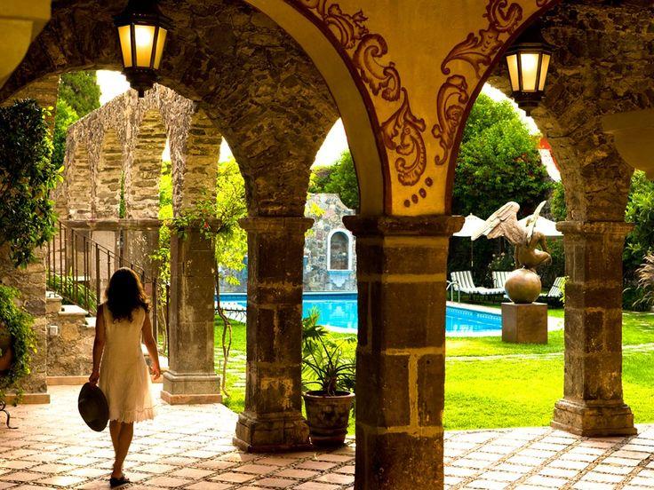 Casa de Sierra Nevada - San Miguel de Allende, Mexico.