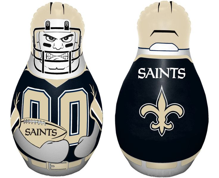 New Orleans Saints Tackle Buddy Punching Bag - New