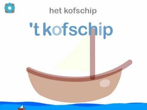 Een filmpje over de uitleg van 't kofschip.