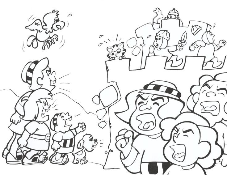 joshua 24 coloring pages - photo#15