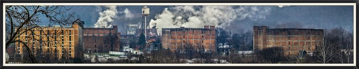 "https://flic.kr/p/qFa8PA | Buffalo Trace Distillery | Panoramic of the Buffalo Trace Distillery as taken from the Cove Springs Overlook.  It was a cold weather day and the affect of the thick moisture in the air lended a great overall effect.    ""Buffalo Trace Distillery is a distillery located in Frankfort, Kentucky. It has historically been known by several names, including most notably, the George T. Stagg Distillery and the O.F.C. Distillery."" - Wikipedia"