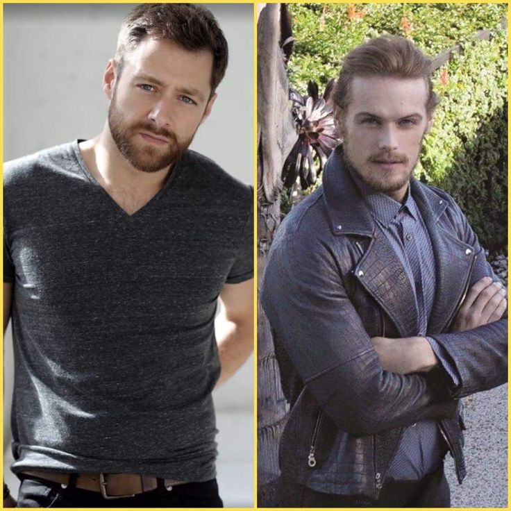 Outlander's 2 leading men