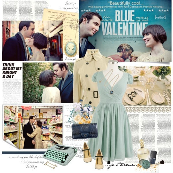 vintage inspired look for valentines day | Top Sets for Feb 19th, 2012 by Je Suis un Lapin