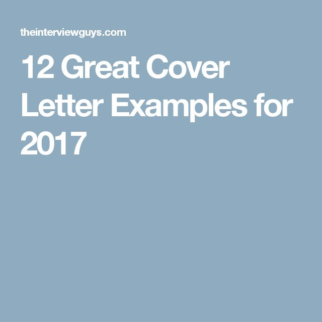 Best 25+ Great cover letter examples ideas on Pinterest - example of a great cover letter for resume