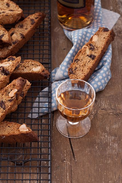 Chestnut chocolate biscotti by Juls1981, via Flickr.  Sounds interesting, and gluten free.