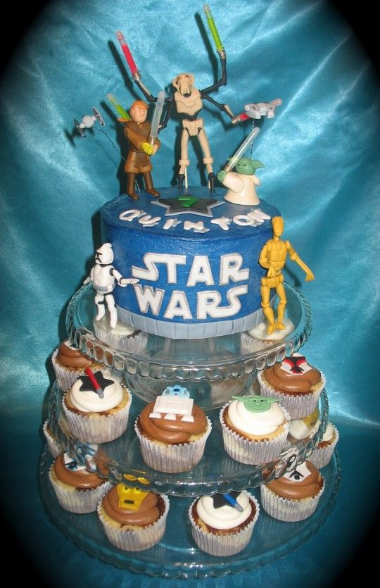 181 best adult star wars party images on pinterest star wars starwars and birthdays - Star wars birthday cake decorations ...