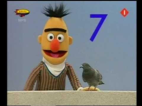 Bernice kan tot 10 tellen (Dutch Bert & Ernie) - YouTube