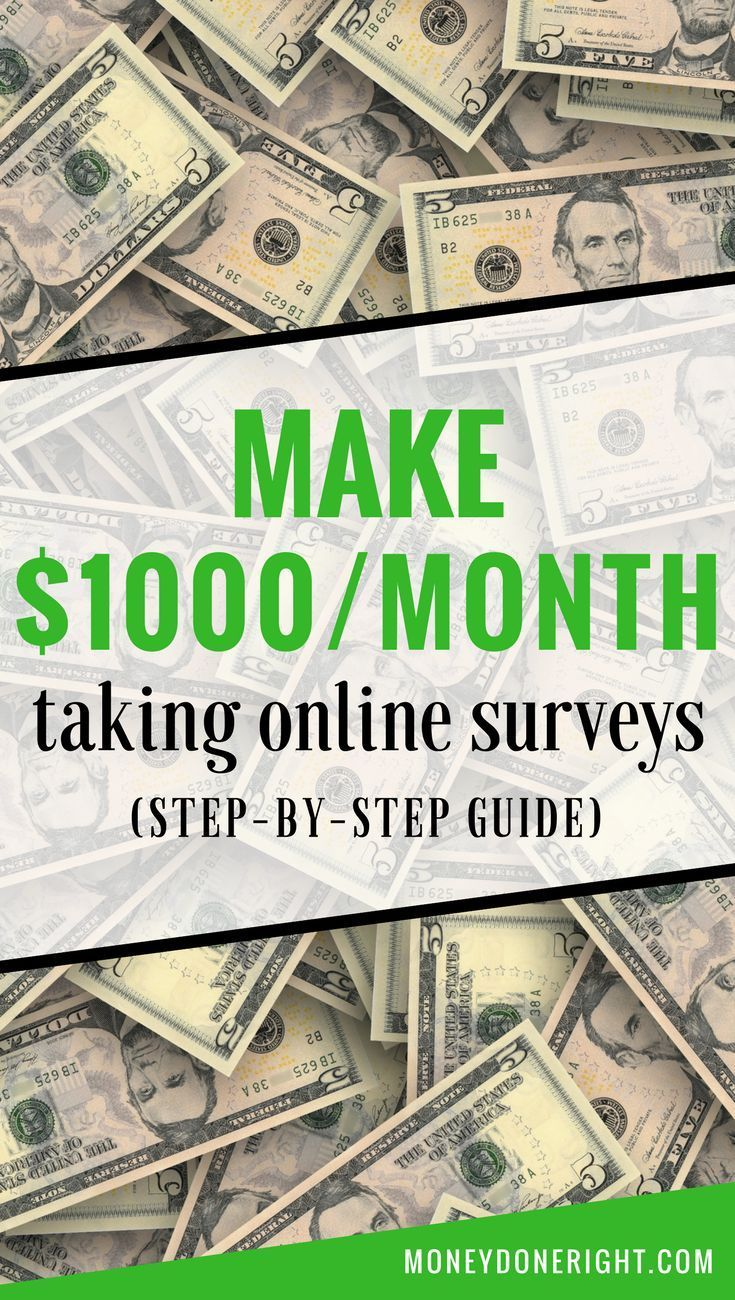 How To Make 1 000 Per Month From Home Taking Online Surveys Step
