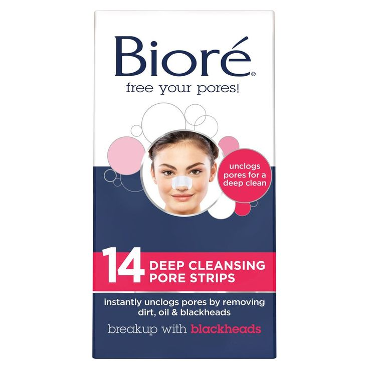 Biore Deep Cleansing Pore Strips – Nose – 14ct