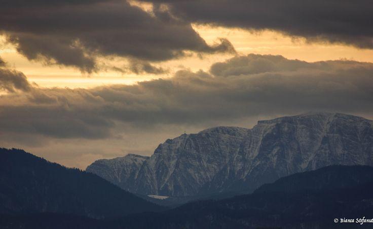 Mountain top in Bucegi Mountains, Romania