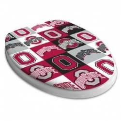 Ohio State Seat Socks: Seat Socks Are Durable, Washable And Will Fit Any  Toilet Lid Out There!