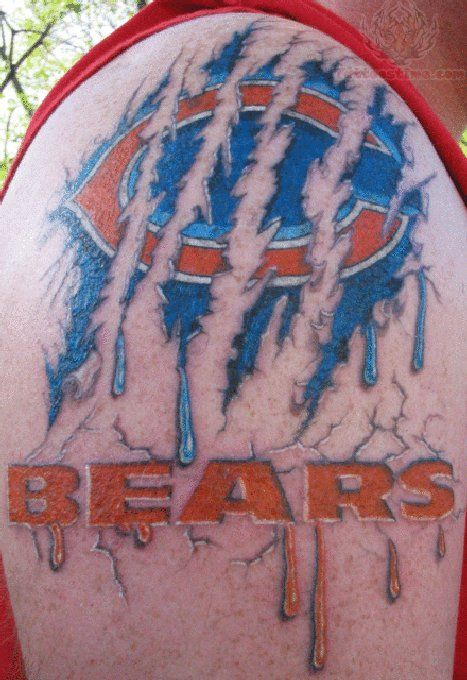 chicago bears tattoos | Chicago Bears Tattoos Pictures and Images : Page 17