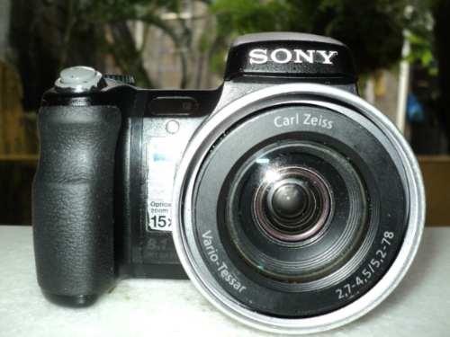 Sony Dsc-h9 8.1 Megapixels - 15x Optical Zoom   Cartão 4 Gb - $500.00