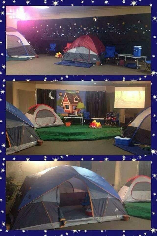 Vbs Camping Theme Decorating Ideas Part - 24: VBS Godu0027s Backyard Bible Camp