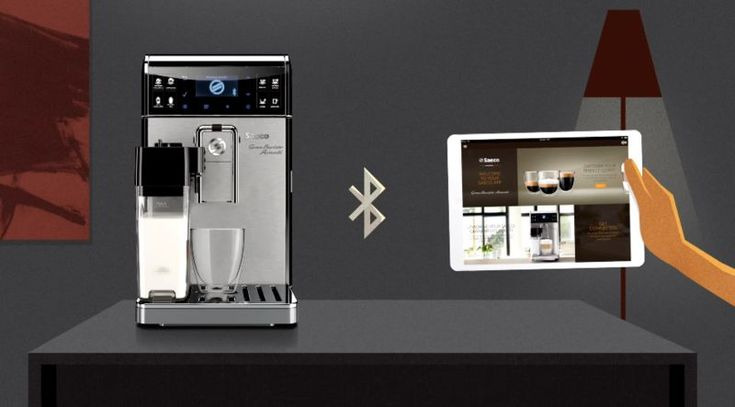 Saeco's Smart Coffee Machine Connects to a Tablet for Customization #kitchen #design trendhunter.com