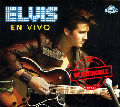 Elvis Presley en Vivo rare cd made in Chile