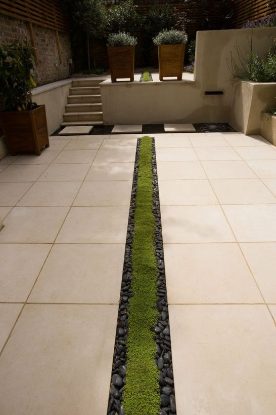 Great alternative if you can't have a water rill...very cool.