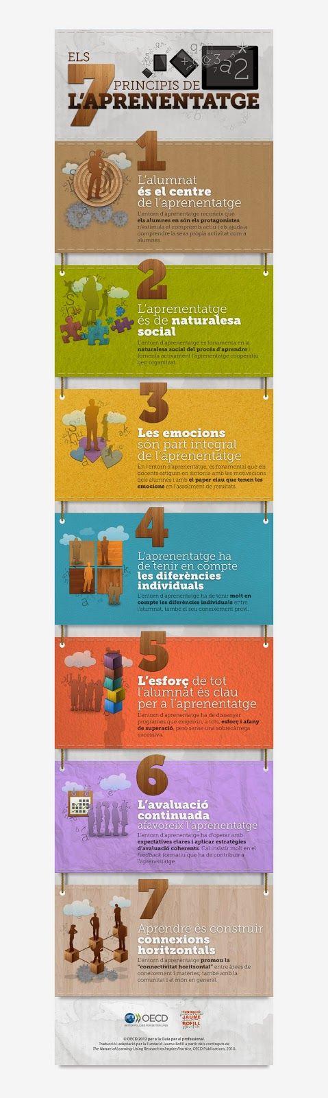ELS 7 PRINCIPIS DE LAPRENENTAGE - TIC, LLAPIS I PAPER