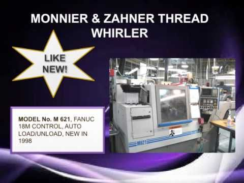 This online machine tool auction features the assets of several major manufacturers throughout the USA. Highlights include: Several **BRAND NEW** Horizontal Band Saws including: CH-400 Horizontal Dual Column Band Saw, CH-500 Horizontal Dual Column Band Saw, & LX-250NC Automatic Band Saw, 1993 AEM Sheet Deburring System Model DG-360 wet, Pacific ...