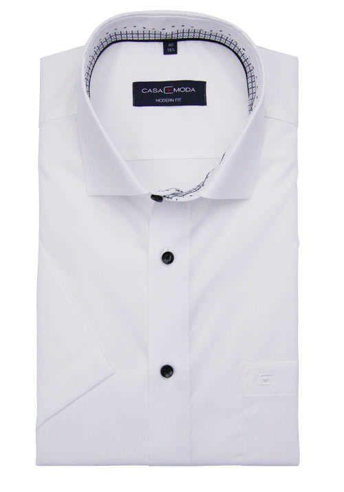 Jersey Hemd, Casual Kentkragen, Modern Fit | Langarmhemden