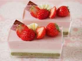ひなまつりムースケーキ♪