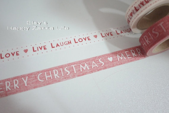 Masking tape Les Bricoles de Nolou. Customisez tous vos objets !!! #noel #christmas