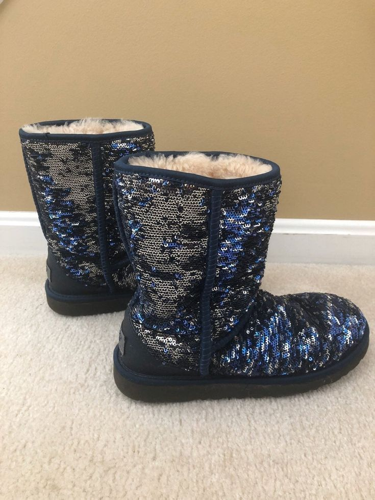 Ugg Boots Sparkly Size 6