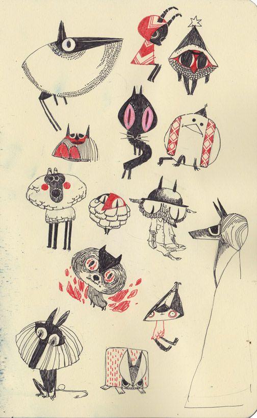 Some little evil monsters, héhé •v•