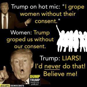 Funniest Memes Reacting to Trump's Groping Scandal: Believe Me!