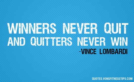Vince Lombardi Quote #success