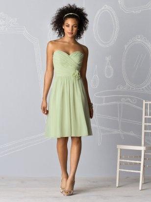 mint bridesmaids dress: Idea, Bridesmaid Style, Dresses Style, Color, Mint Bridesmaid Dresses, Shorts Dresses, Green Bridesmaid Dresses, Chiffon Bridesmaid Dresses, Green Dresses