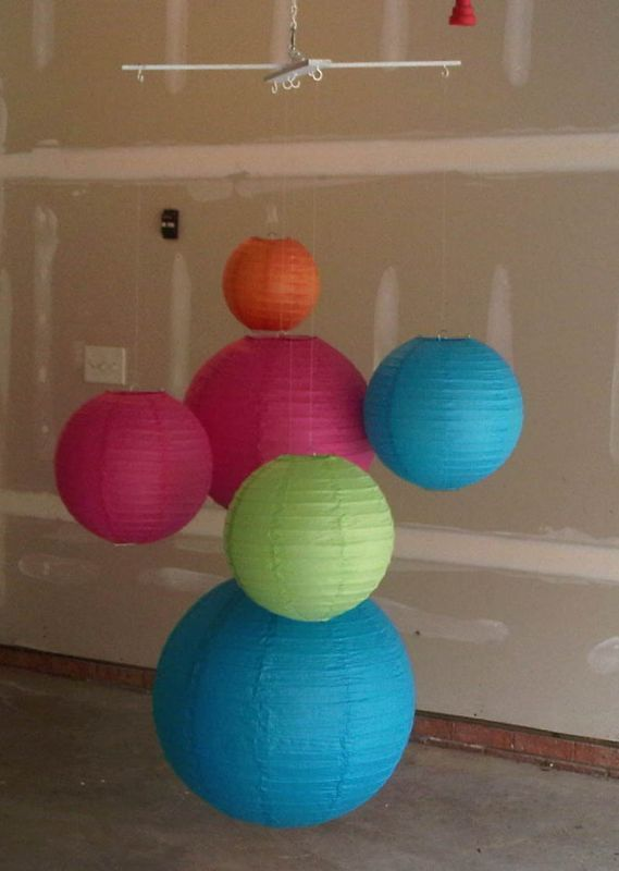 A frame to hang chinese lanterns from wedding ideas - Asian ideas paper lanterns ...