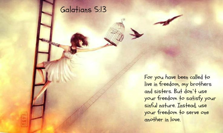 called to freedom but, gal 5,13