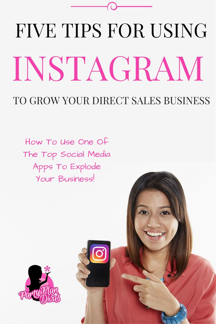 Five Tips For Selling On Instagram