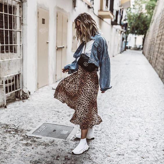 3 Different Leopard Print Skirts 3 Outfit Ideas