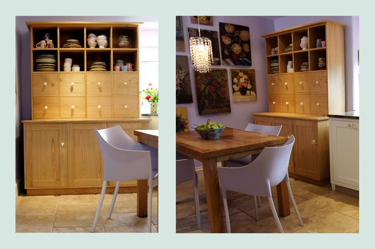 Kitchenette with cute hutch