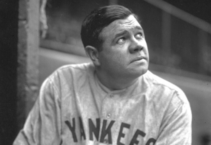 Babe Ruth career stats... Batting average: .342 Home runs: 714 Hits: 2,873 RBI: 2,213 Pitching W/L record: 94-46 ERA: 2.28 People forget what an outstanding pitcher he was. His entire career was before the league allowed any non-white players