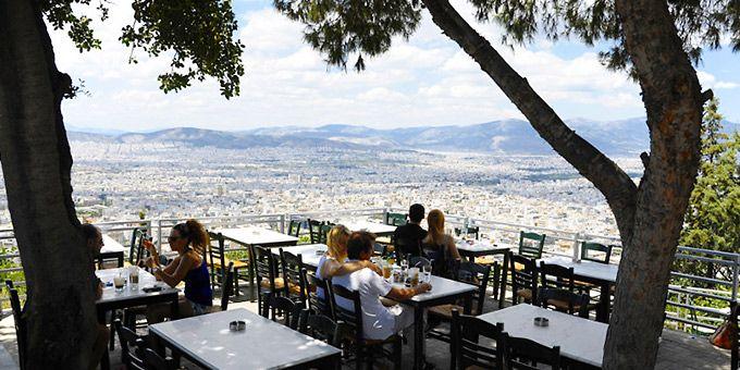 Έξοδος   Πού να πιείτε καφέ με υπέροχη θέα στην Αθήνα