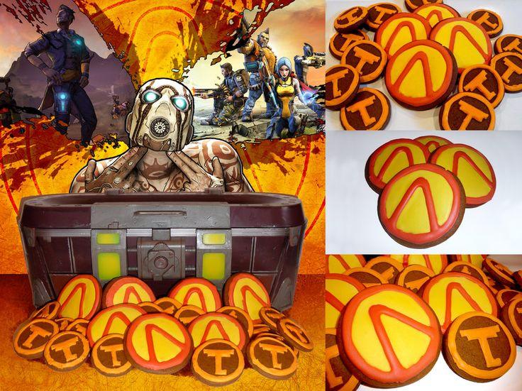 Borderlands cookies by xsinfinityx Borderlands
