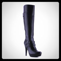 nurse bt ralf loren   by Guess Daynah Wide Calf Boots--Dark Gray I absolutely love these ...