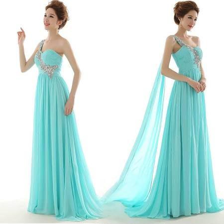 womens xl blue bridesmaids dress - Google Search
