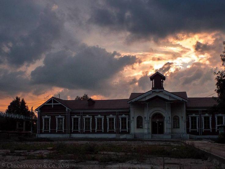 Ж/Д вокзал в Шуе  #железнаядорога #вокзал #ржд #railroad #railwaystation