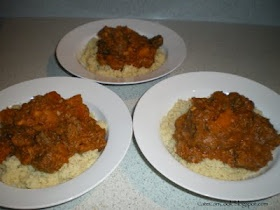 Moroccan Lamb and Pumpkin Casserole with Couscous in the thermomix