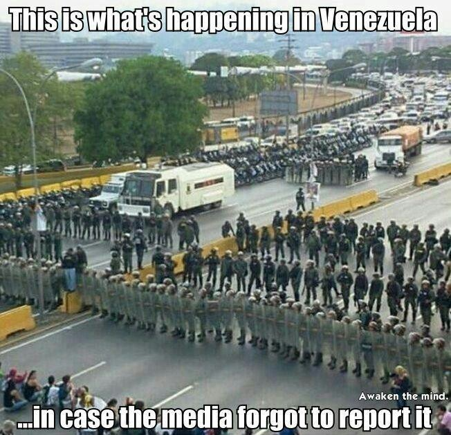 This iS REAL More martial law. The Media doesn't want you to see what socialism with no guns Really looks like. This used to be a paradise, now it is considered the murder capital of the world. These poor people are having to eat pets and dig in the garbage for food. Please be prepared for emergencies, food and water and seeds, alot of it.