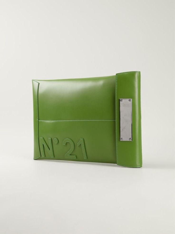 Nº21 Клатч-конверт С Логотипом - Gallery - Farfetch.com